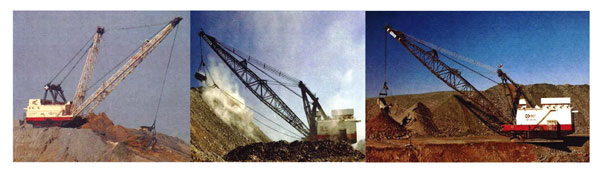 3 Draglines Together 01
